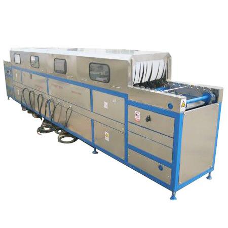 五金零件全自动超声波清洗-精密部件超声波清洗线